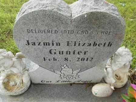 GUNTER, JAZMIN ELIZABETH - Howell County, Missouri   JAZMIN ELIZABETH GUNTER - Missouri Gravestone Photos