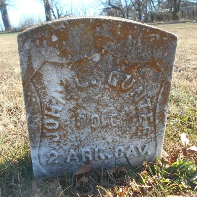 GUNTER, JOHN LULOW VETERAN - Howell County, Missouri | JOHN LULOW VETERAN GUNTER - Missouri Gravestone Photos
