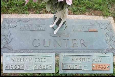 GUNTER, WILLIAM FRED, SR. - Howell County, Missouri | WILLIAM FRED, SR. GUNTER - Missouri Gravestone Photos