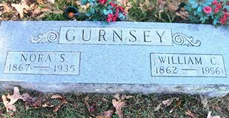 CLAY GURNSEY, NORA SUSAN - Howell County, Missouri | NORA SUSAN CLAY GURNSEY - Missouri Gravestone Photos