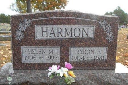 HARMON, BYRON F. - Howell County, Missouri   BYRON F. HARMON - Missouri Gravestone Photos