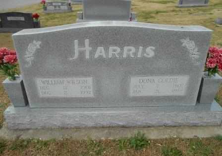 BLAIR HARRIS, DONA GOLDIE - Howell County, Missouri | DONA GOLDIE BLAIR HARRIS - Missouri Gravestone Photos
