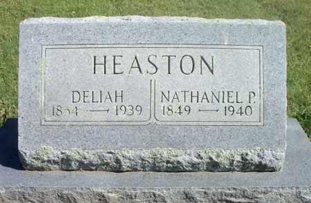 HEASTON, DELIAH - Howell County, Missouri | DELIAH HEASTON - Missouri Gravestone Photos