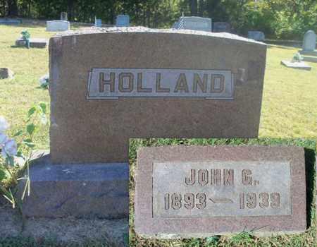 HOLLAND, JOHN G. - Howell County, Missouri | JOHN G. HOLLAND - Missouri Gravestone Photos
