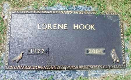 HOOK, LORENE - Howell County, Missouri | LORENE HOOK - Missouri Gravestone Photos