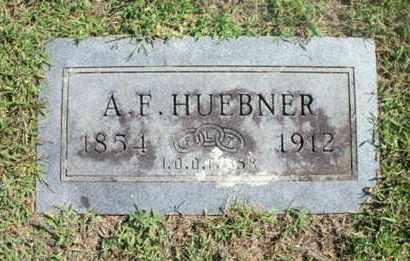 HUEBNER, ASMUS FREDRICK - Howell County, Missouri   ASMUS FREDRICK HUEBNER - Missouri Gravestone Photos