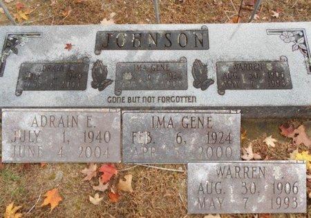 JOHNSON, IMA GENE - Howell County, Missouri | IMA GENE JOHNSON - Missouri Gravestone Photos