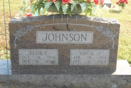 JOHNSON, VIRGIL JAMES - Howell County, Missouri | VIRGIL JAMES JOHNSON - Missouri Gravestone Photos