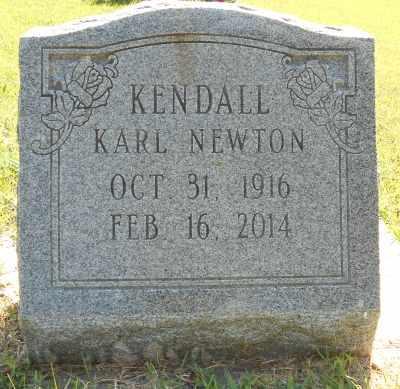 KENDALL, KARL NEWTON - Howell County, Missouri   KARL NEWTON KENDALL - Missouri Gravestone Photos