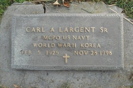 LARGENT, CARL ALFRED, SR. VETERAN WWII KOREA - Howell County, Missouri | CARL ALFRED, SR. VETERAN WWII KOREA LARGENT - Missouri Gravestone Photos