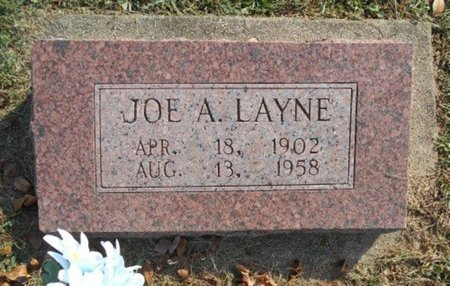"LAYNE, JOSEPH ALFRED ""JOE"" - Howell County, Missouri | JOSEPH ALFRED ""JOE"" LAYNE - Missouri Gravestone Photos"