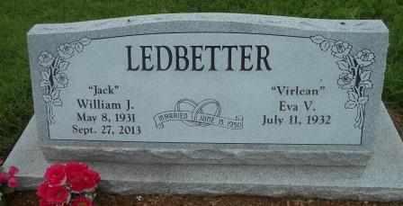 LEDBETTER, WILLIAM JACK - Howell County, Missouri | WILLIAM JACK LEDBETTER - Missouri Gravestone Photos