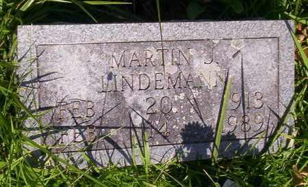 LINDEMANN, MARTIN J - Howell County, Missouri | MARTIN J LINDEMANN - Missouri Gravestone Photos