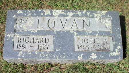 LOVAN, RICHARD O. - Howell County, Missouri | RICHARD O. LOVAN - Missouri Gravestone Photos
