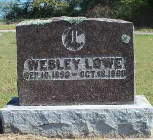 LOWE, WESLEY - Howell County, Missouri | WESLEY LOWE - Missouri Gravestone Photos