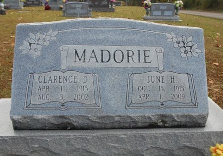 MADORIE, CLARENCE DAYTON - Howell County, Missouri | CLARENCE DAYTON MADORIE - Missouri Gravestone Photos