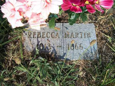 BROWN MARTIN, REBECCA - Howell County, Missouri | REBECCA BROWN MARTIN - Missouri Gravestone Photos