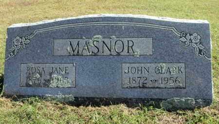 MASNOR, JOHN CLARK - Howell County, Missouri | JOHN CLARK MASNOR - Missouri Gravestone Photos