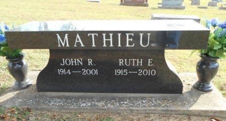 CRONKHITE MATHIEU, RUTH E. - Howell County, Missouri | RUTH E. CRONKHITE MATHIEU - Missouri Gravestone Photos