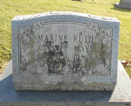 MAY, MAXINE RUTH - Howell County, Missouri | MAXINE RUTH MAY - Missouri Gravestone Photos
