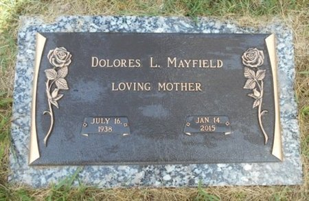 MAYFIELD, DOLORES L. - Howell County, Missouri | DOLORES L. MAYFIELD - Missouri Gravestone Photos