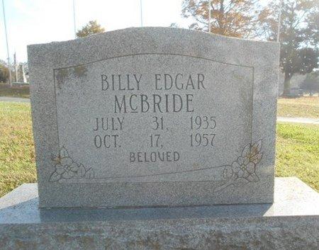 MCBRIDE, BILLY EDGAR - Howell County, Missouri | BILLY EDGAR MCBRIDE - Missouri Gravestone Photos