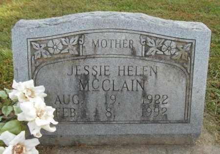 MCCLAIN, JESSIE HELEN - Howell County, Missouri | JESSIE HELEN MCCLAIN - Missouri Gravestone Photos