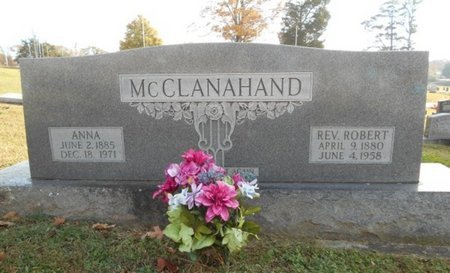 MCCLANAHAND, ROBERT, REV. - Howell County, Missouri | ROBERT, REV. MCCLANAHAND - Missouri Gravestone Photos