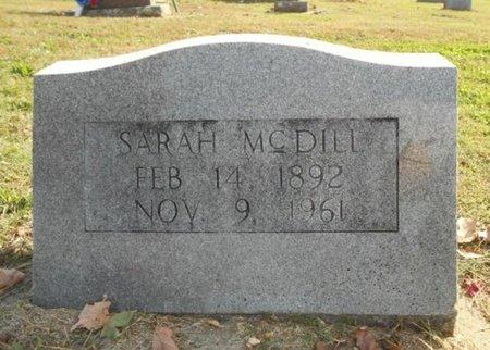 MCDILL, SARAH - Howell County, Missouri   SARAH MCDILL - Missouri Gravestone Photos