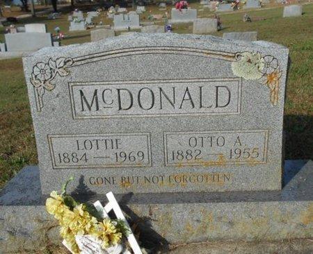 "HARLOW MCDONALD, CHARLOTTA A. ""LOTTIE"" - Howell County, Missouri | CHARLOTTA A. ""LOTTIE"" HARLOW MCDONALD - Missouri Gravestone Photos"