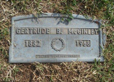 MCGINLEY, GERTRUDE B. - Howell County, Missouri   GERTRUDE B. MCGINLEY - Missouri Gravestone Photos