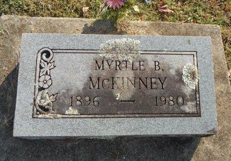 MCKINNEY, MYRTLE B. - Howell County, Missouri | MYRTLE B. MCKINNEY - Missouri Gravestone Photos