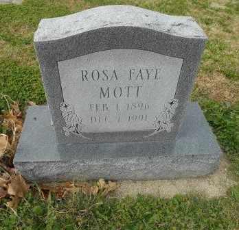 MOTT, ROSA FAYE - Howell County, Missouri | ROSA FAYE MOTT - Missouri Gravestone Photos