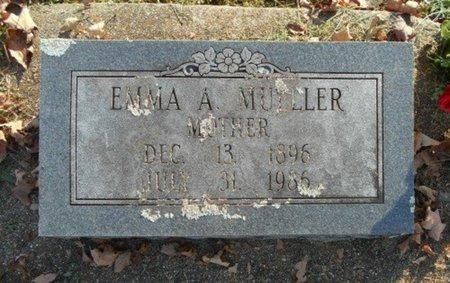 MUELLER, EMMA A. - Howell County, Missouri | EMMA A. MUELLER - Missouri Gravestone Photos