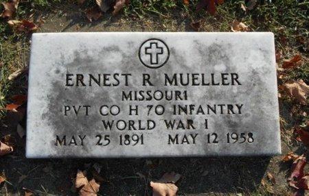MUELLER, ERNEST R. VETERAN WWI - Howell County, Missouri | ERNEST R. VETERAN WWI MUELLER - Missouri Gravestone Photos