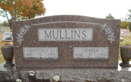 MULLINS, LAWRENCE G. - Howell County, Missouri | LAWRENCE G. MULLINS - Missouri Gravestone Photos