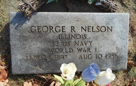 NELSON, GEORGE RUSSELL VETERAN WWI - Howell County, Missouri   GEORGE RUSSELL VETERAN WWI NELSON - Missouri Gravestone Photos