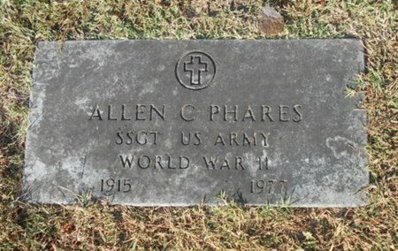 PHARES, ALLEN C. VETERAN WWII - Howell County, Missouri | ALLEN C. VETERAN WWII PHARES - Missouri Gravestone Photos
