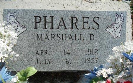 PHARES, MARSHALL D. - Howell County, Missouri | MARSHALL D. PHARES - Missouri Gravestone Photos