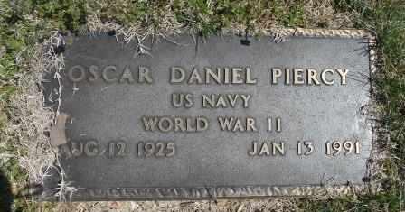 PIERCY VETERAN WWII, OSCAR DANIEL - Howell County, Missouri | OSCAR DANIEL PIERCY VETERAN WWII - Missouri Gravestone Photos