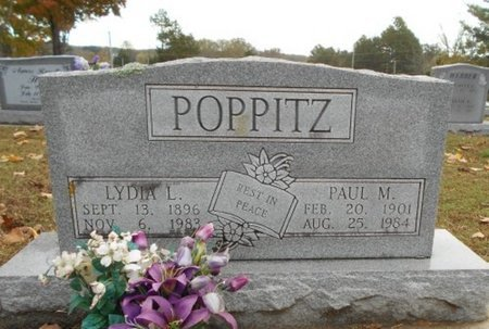 POPPITZ, LYDIA LOUISE SOPHIE - Howell County, Missouri | LYDIA LOUISE SOPHIE POPPITZ - Missouri Gravestone Photos