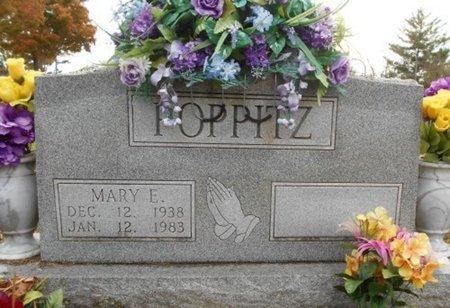 HANKS POPPITZ, MARY ETHEL - Howell County, Missouri | MARY ETHEL HANKS POPPITZ - Missouri Gravestone Photos