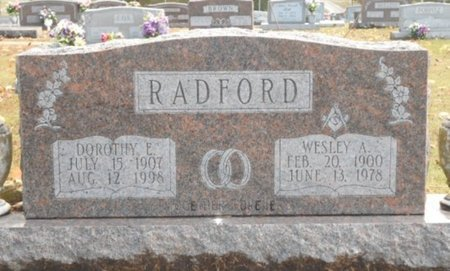 JOHNSON RADFORD, DOROTHY E. - Howell County, Missouri | DOROTHY E. JOHNSON RADFORD - Missouri Gravestone Photos
