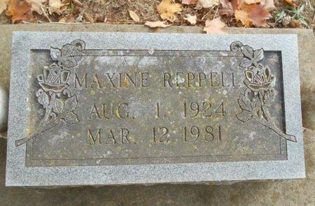 REPPELL, MAXINE - Howell County, Missouri | MAXINE REPPELL - Missouri Gravestone Photos