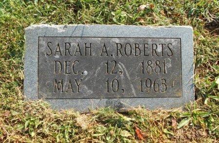ROBERTS, SARAH A. - Howell County, Missouri | SARAH A. ROBERTS - Missouri Gravestone Photos
