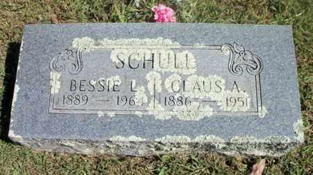 SCHULL, BESSIE L. - Howell County, Missouri | BESSIE L. SCHULL - Missouri Gravestone Photos