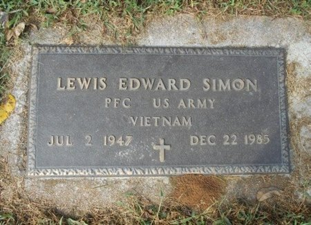 SIMON, LEWIS EDWARD VETERAN VIETNAM - Howell County, Missouri | LEWIS EDWARD VETERAN VIETNAM SIMON - Missouri Gravestone Photos