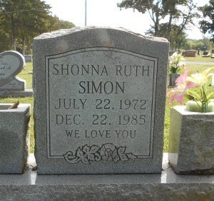 SIMON, SHONNA RUTH - Howell County, Missouri | SHONNA RUTH SIMON - Missouri Gravestone Photos