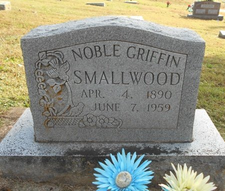 SMALLWOOD, NOBLE GRIFFIN - Howell County, Missouri | NOBLE GRIFFIN SMALLWOOD - Missouri Gravestone Photos
