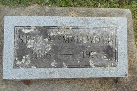 LOVAN SMALLWOOD, STELLA - Howell County, Missouri | STELLA LOVAN SMALLWOOD - Missouri Gravestone Photos